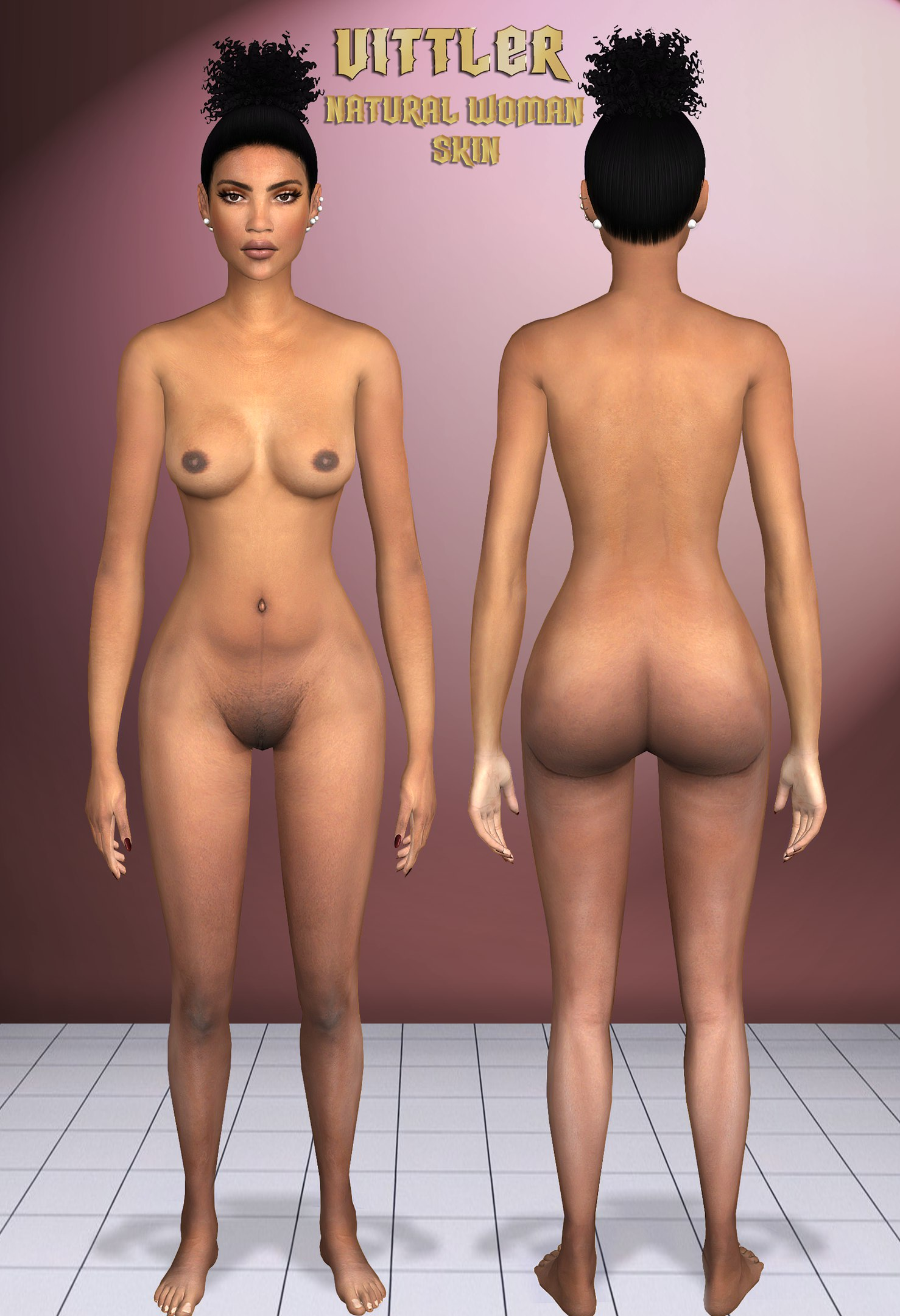 Natural Woman Skin by Vittler