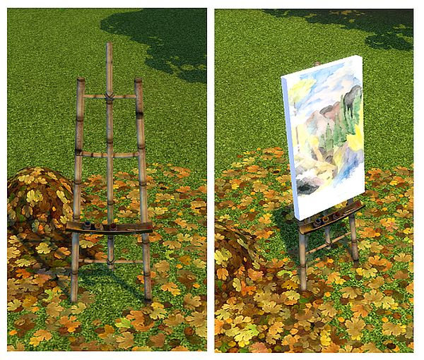 Castaway Stories Master Painters Easel by BigUglyHag
