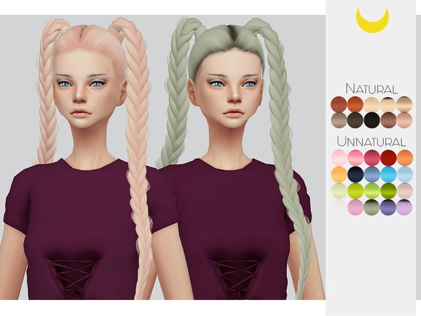 Hair Retexture 64 - LeahLilliths Boom Shock by Kalewa-a