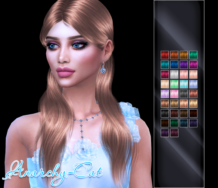WINGS HAIR TS4 OE0423 by Anarchy-Cat