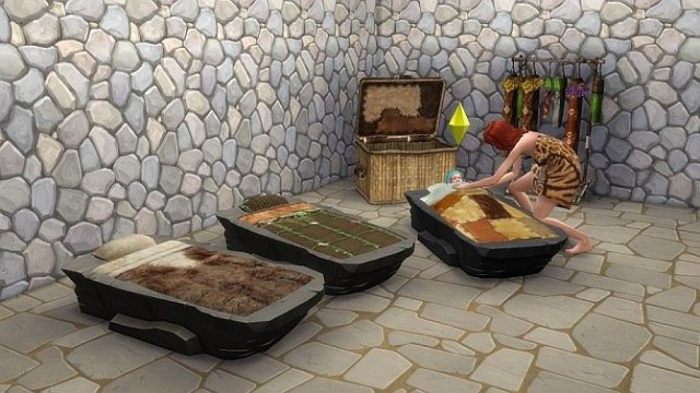 Stone Age Toddler Bed by BigUglyHag