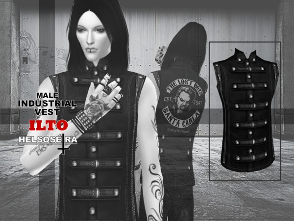 ILTO - Industrial Vest - Male by Helsoseira