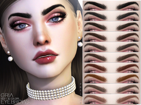 Gria Eyebrows N130 by Pralinesims