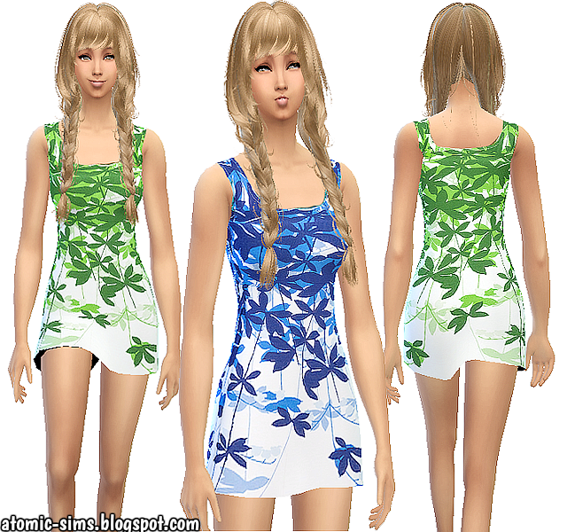 Diana dress by Atomic-sims