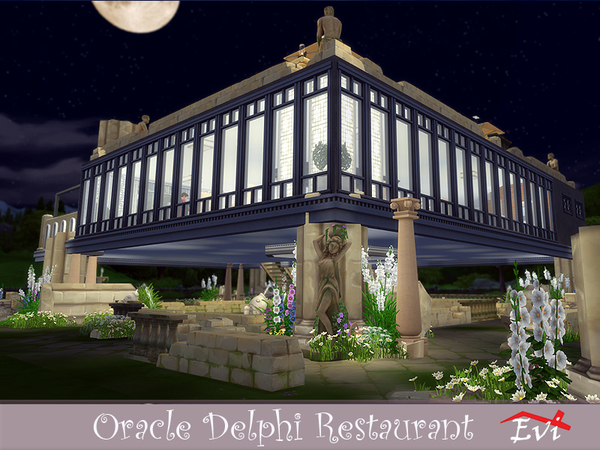 Oracle Delphi Restaurant by evi