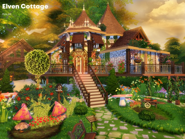 Elven Cottage by Pralinesims
