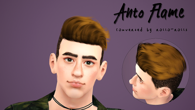 Antos hairstyles Flame conversion by Rollo-Rolls