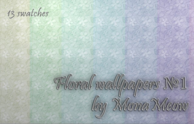 Floral wallpapers №1 by Monameow