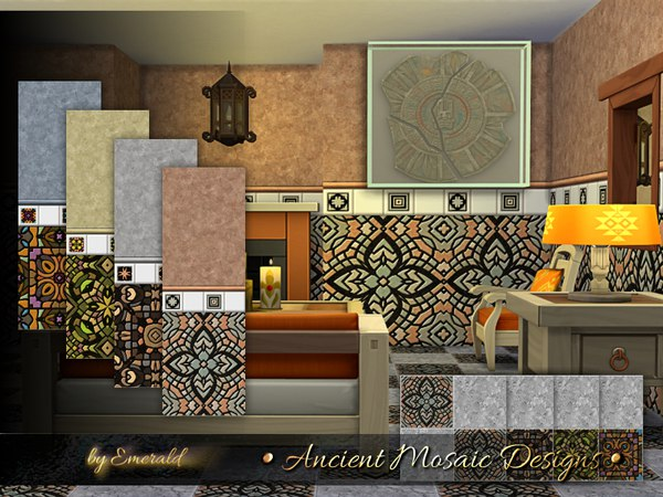 Ancient Mosaic Designs by emerald