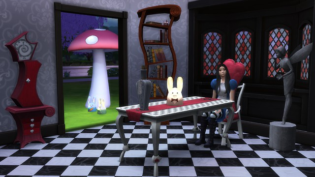 TS3 to TS4 Alice Madness Return by mon-sims