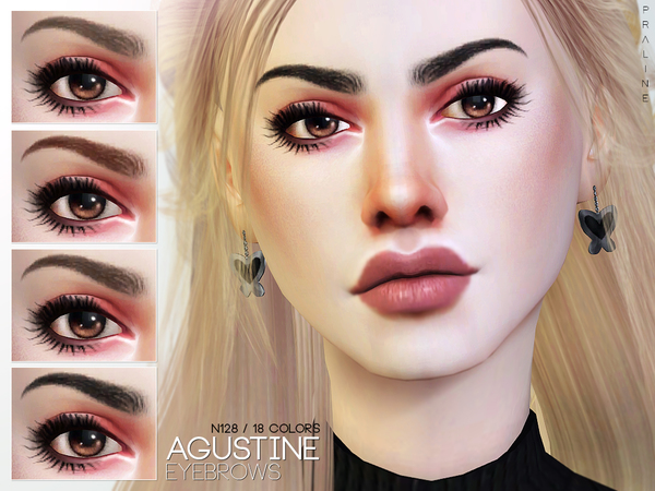 Agustine Eyebrows N128 by Pralinesims
