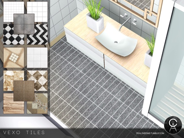 VEXO Tiles by Pralinesims