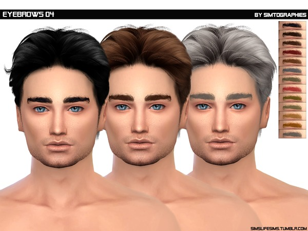 Eyebrows 04 - HQ and Non HQ by simtographies