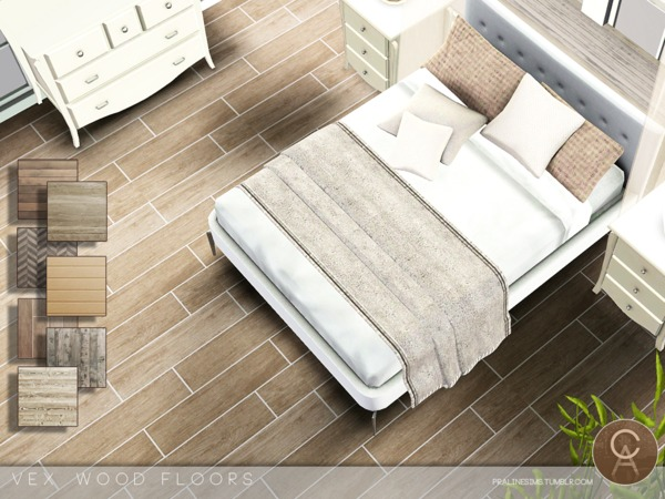 VEX Wood Floors by Pralinesims