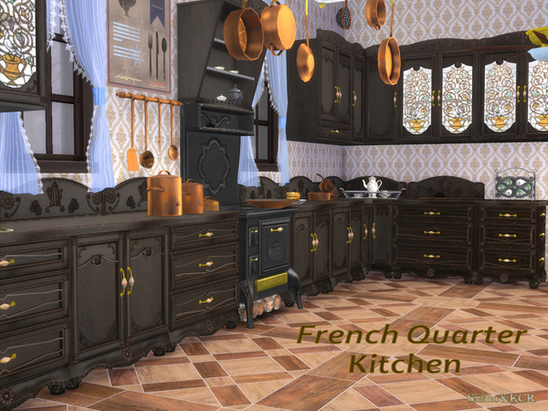 French Quarter Kitchen by ShinoKCR