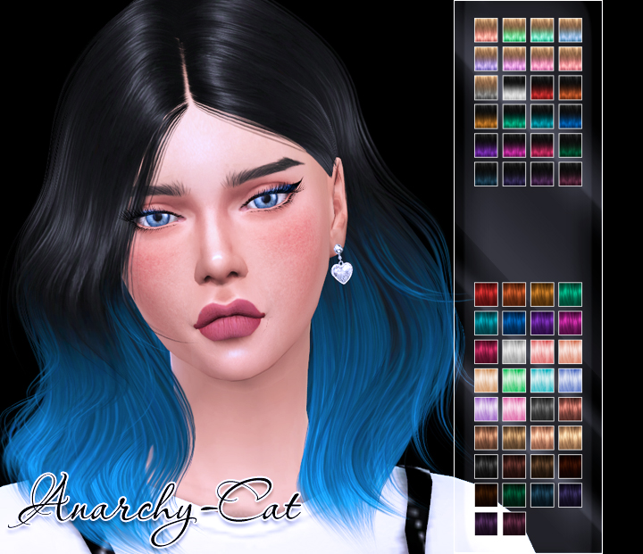 LeahLillith Naira Hair by Anarchy-Cat