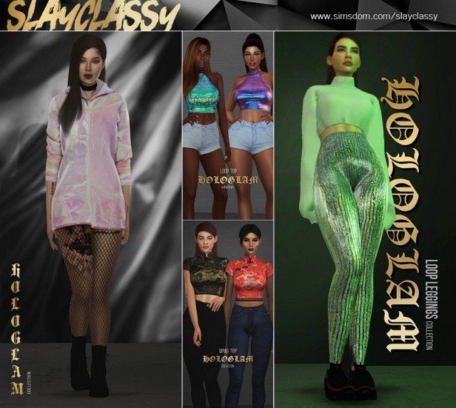 MAY#2  HOLOGLAM COLLECTION by Slay-Classy