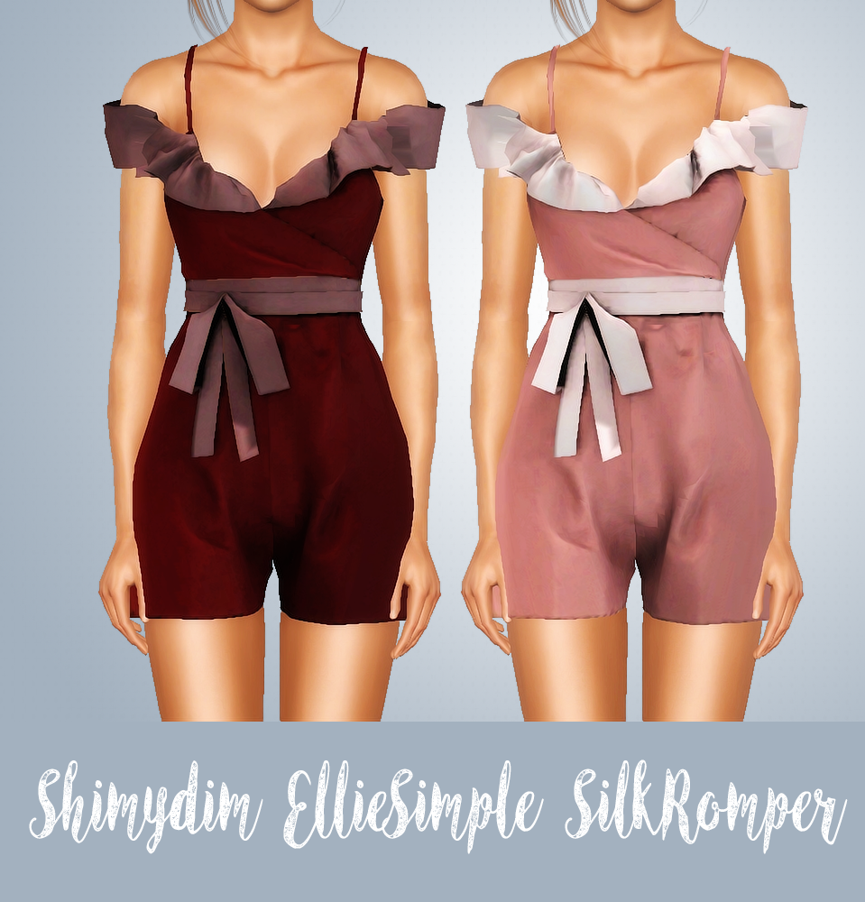 EllieSimple Silk Romper Conversion - Adult by shimydim