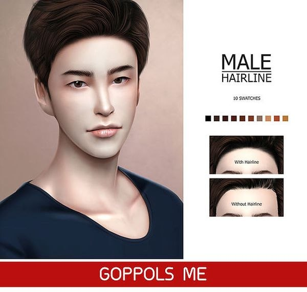 GPME Male Hairline by GoppolsMe