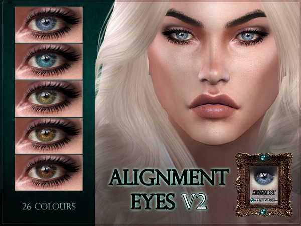 Alignment Eyes - V2 - with shine by RemusSirion