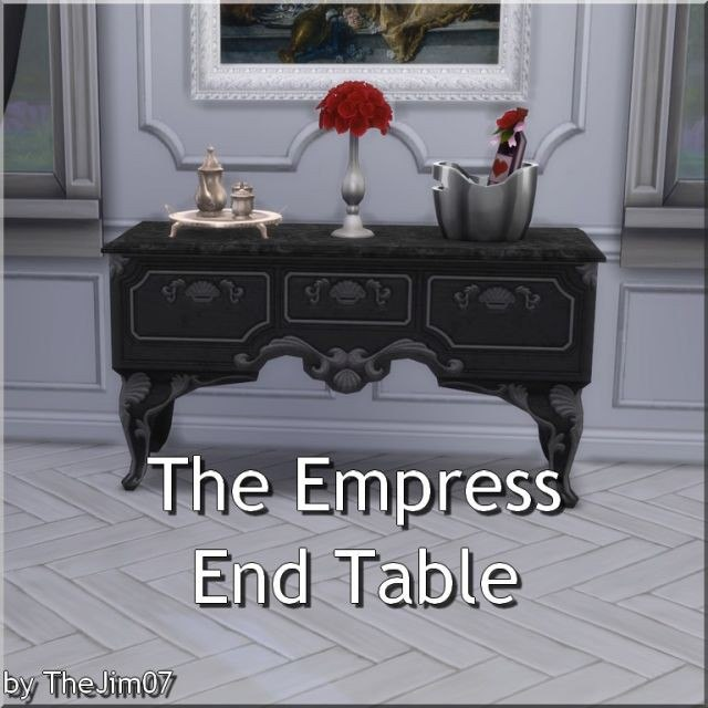 The Empress End Table by TheJim07