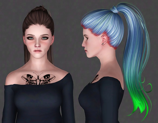 CoolSims - Hair 103 by ifcasims