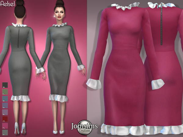 aelsel dress by jomsims