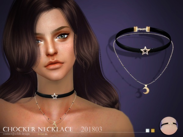 S-Club ts4 LL Necklace F 201803