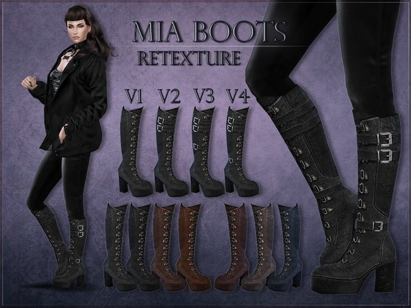 Madlen Mia Boots - Retexture - MESH NEEDED by RemusSirion