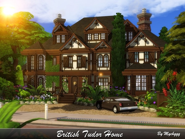 British Tudor Home by MychQQQ