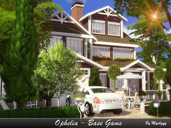 Ophelia - Base Game (No CC) by MychQQQ
