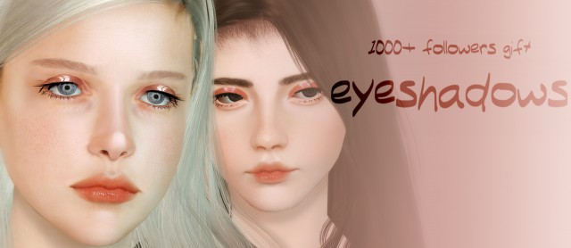 2 eyeshadows by sourlemonsimblr