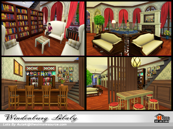 Windenburg Library by autaki
