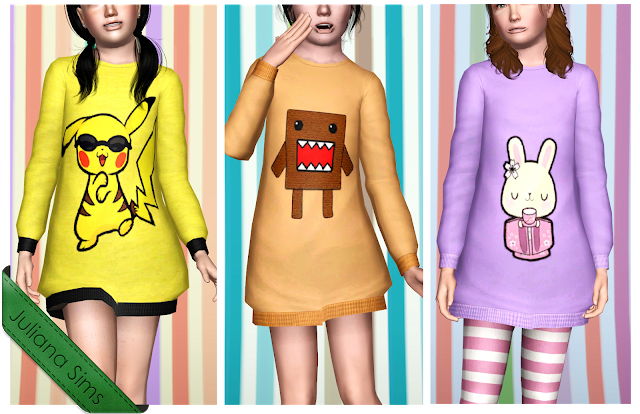 Comfy Kids Sweatshirts by Juliana