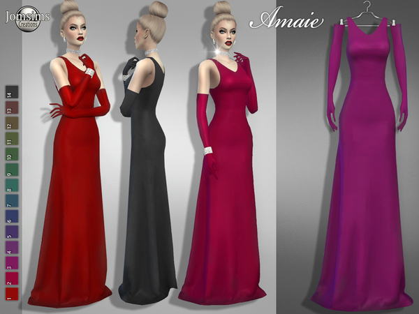 amaie dress by jomsims