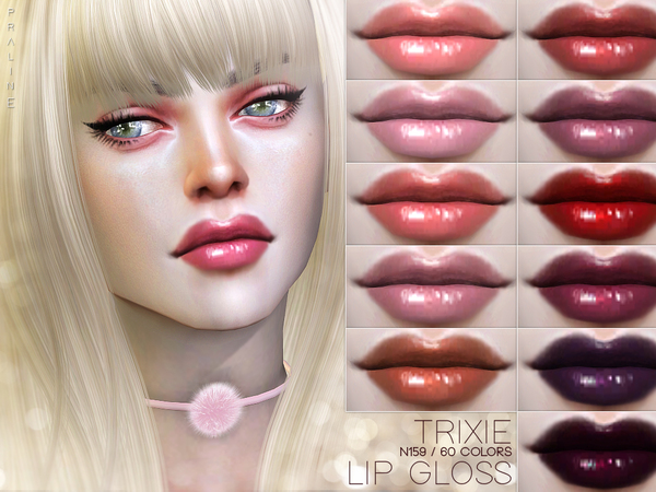 Trixie Lip Gloss N159 by Pralinesims