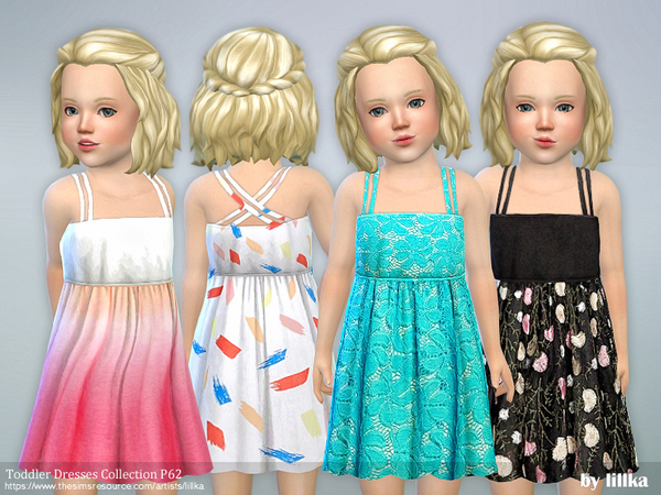 Toddler Dresses Collection P62 by lillka