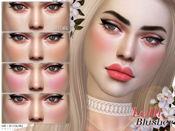 Lolli Blusher N45 by Pralinesims