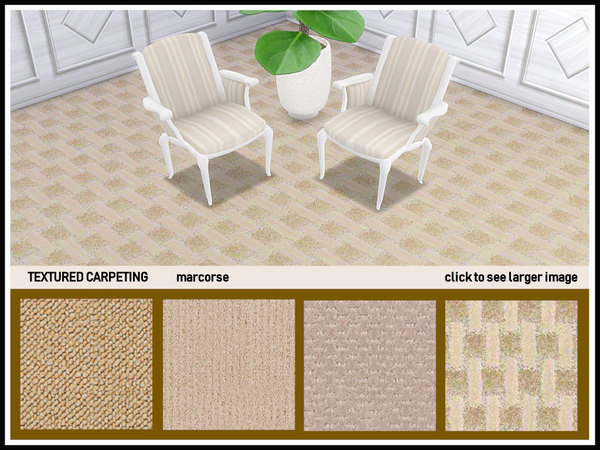 Textured Carpeting by marcorse