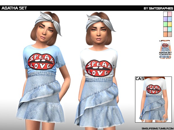 Agatha Set by simtographies