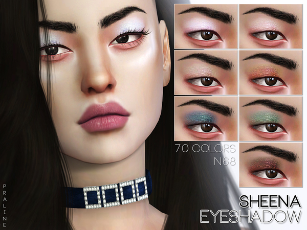 Sheena Eyeshadow N68 by Pralinesims