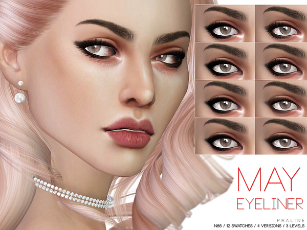 May Eyeliner N86 by Pralinesims