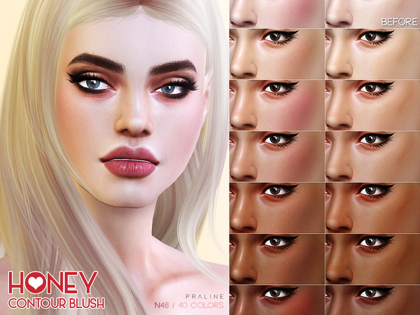 Honey Contour N46 by Pralinesims