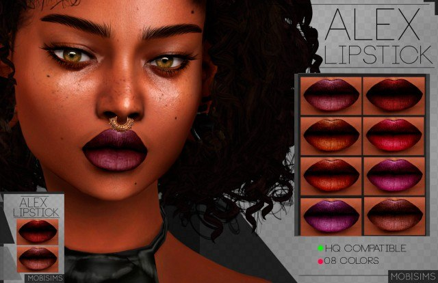 Alex Lipstick by mobsims