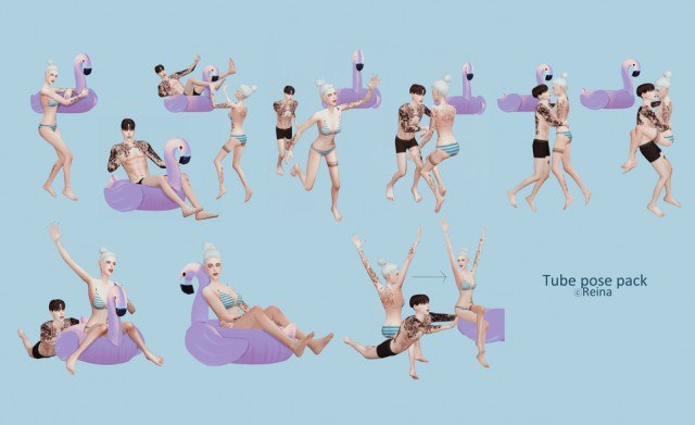 Tube pose pack by Reina