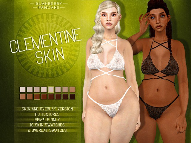 Clementine Skin & Overlay by Blahberry Pancake