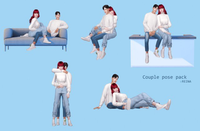 Couple pose pack by Reina