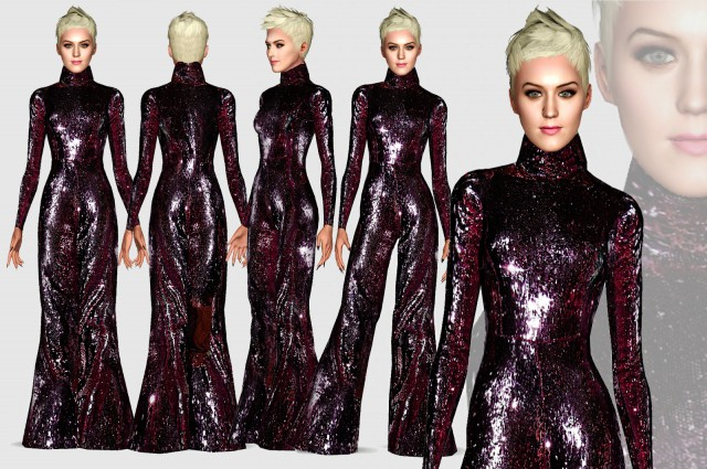 Katy Perry Joicy couture Fall 2018 Jumpsuit - By Renansims