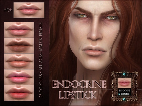 Endocrine Lipstick by RemusSirion