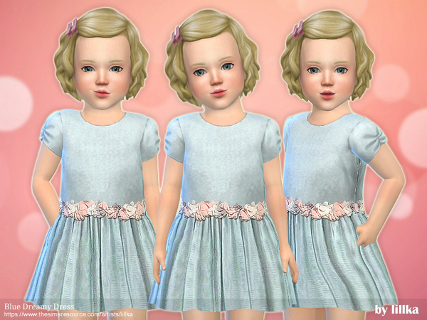Blue Dreamy Dress by lillka